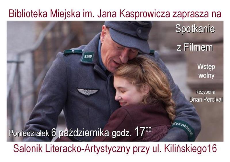 Spotkanie z Filmem: ekranizacja książki Marka Zakusa