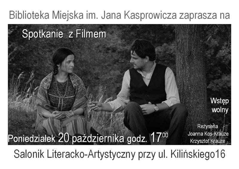 Spotkanie z Filmem Joanny Kos-Krauze i Krzysztofa Krauze