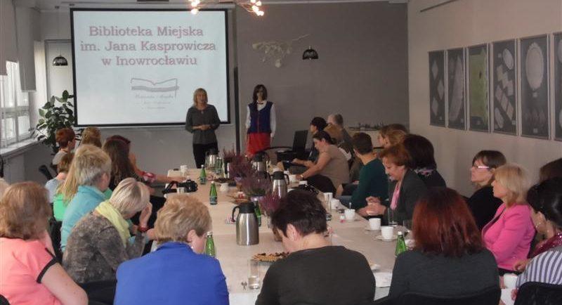 Spotkanie z bibliotekarzami z województwa warmińsko-mazurskiego