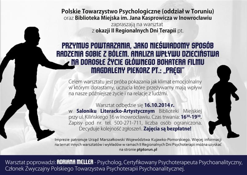 II Regionalne Dni Psychoterapii