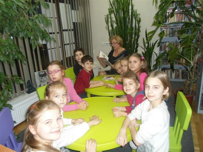 Przyjaźnie o jesieni - po spotkaniu Bajkonurrrków w Filii nr 7