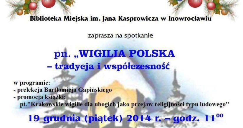 Wigilia Polska tradycyjna i współczesna