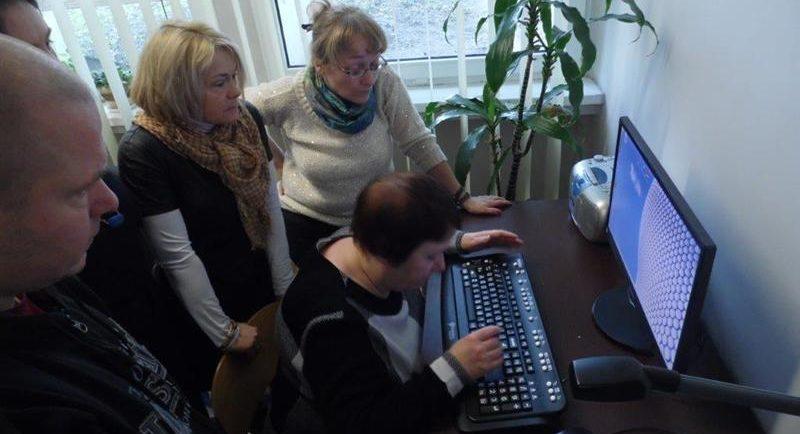Nowoczesne technologie w Bibliotece Miejskiej dla osób z dysfunkcją wzroku