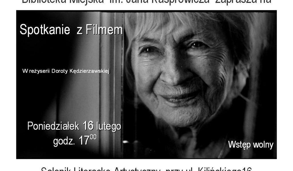 Spotkanie z Filmem: Danuta Szaflarska wielką aktorką jest!