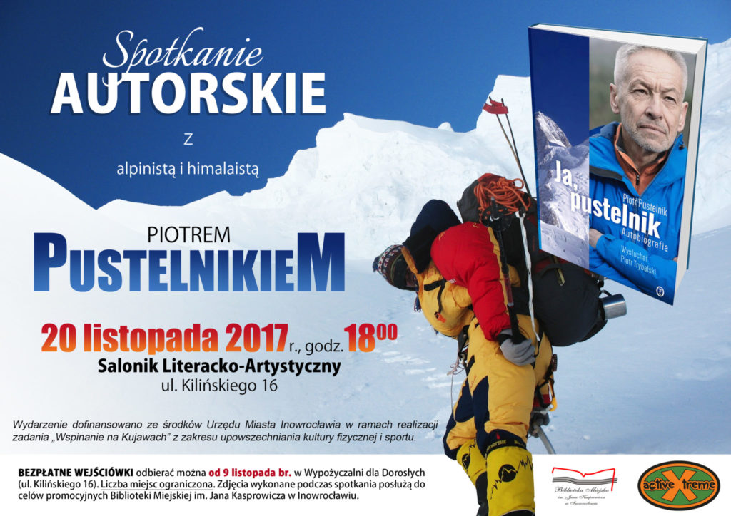Spotkanie autorskie - Piotr Pustelnik